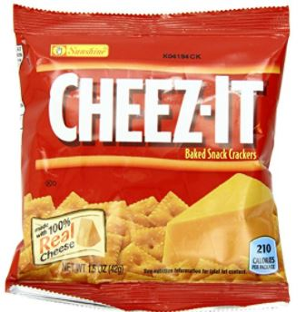 Kellogg's Cheez-It Baked Snack Crackers
