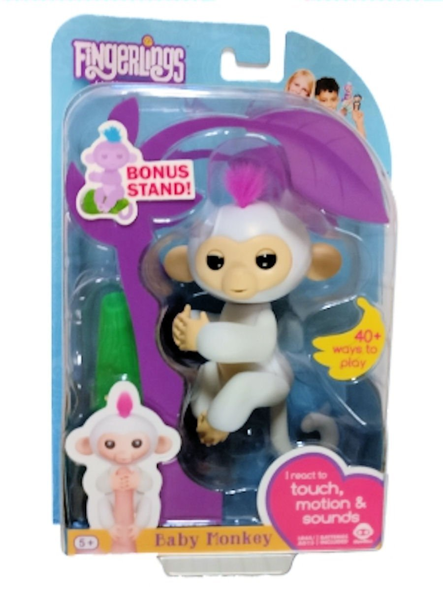 Fingerlings Interactive Baby Monkey Sophie With Bonus