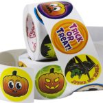 Spooky Halloween Stickers 500 Pack Only $6.95!