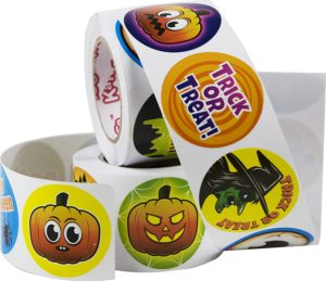 Spooky Halloween Stickers 500 Pack Only $7.69!