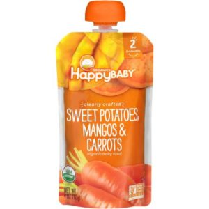 Walmart: Happy Baby Organics Clearly Crafted Pouches Only $0.57!