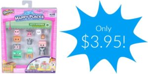 Happy Places Shopkins Decorator Pack Kitty Kitchen Only $3.95!