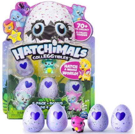 Hatchimals CollEGGtibles 4-Pack