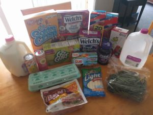 Walmart Shopping – Milk, Eggs, Yogurt, Snacks and more Only $21.41!