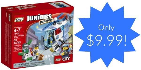LEGO Juniors Police Helicopter Chase Set