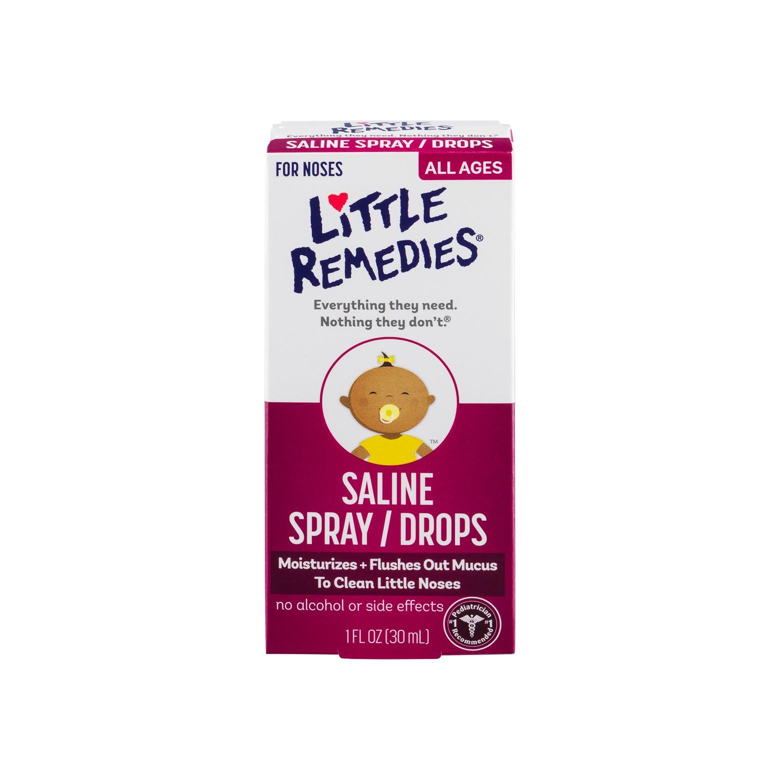 CVS: Little Noses Saline Spray/Drops Only $0.07!