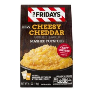 FREE TGI Fridays Mashed Potatoes at Walmart!
