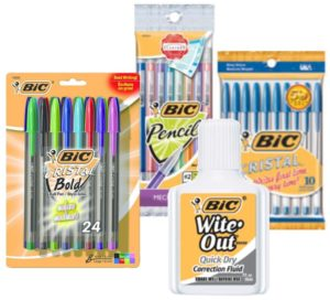 FREE Bic Stationery Items at Meijer!