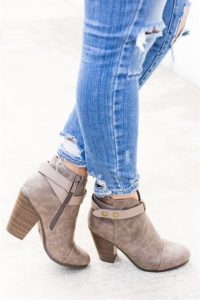 Button Booties Only $24.99 + FREE Shipping! (was $69.99)