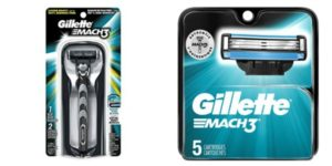 Target: Gillette Mach3 Razor + 5ct Refills as low as $6.98!