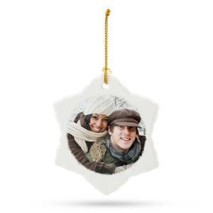 Personalized Snowflake Ornament Only $2.99! (reg. $12.99)