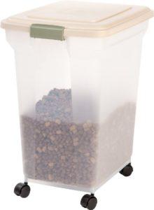 IRIS Premium Airtight Pet Food Storage Container Only $19.19!