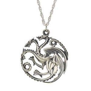 Game of Thrones-Inspired Targaryen Necklace Only $5.99!