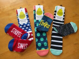Woven Pear Socks Giveaway! (ends 10/20)