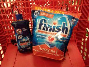 Target: $5 e-Movie Cash Reward wyb 2 Finish Dish Products!