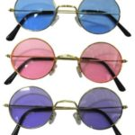 John Lennon-Style Colored Sunglasses Only $3.25!