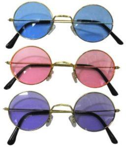 **HOT** John Lennon-Style Colored Sunglasses Only $4.53 (Reg. $16)!