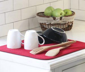 Kitchen Basics Dish Drying Mat Only $2.86!