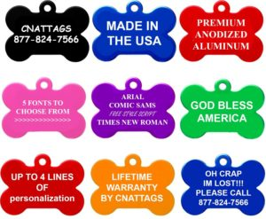 Personalized Pet Tags Only $2.50 + FREE Shipping!