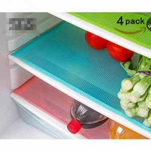 Set of 4 Refrigerator Mats Only $6.95!
