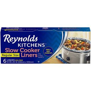 Reynolds Kitchens Slow Cooker Liners as low as $2.54 Shipped!
