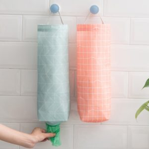 Set of 2 Wall Mount Plastic Bag Holders Only $9.99!