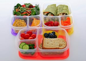 Set of 5 Bento Lunch Boxes Only $9.99! Best Price!
