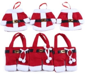 Set of 6 Santa Silverware Holders Only $1.99 + FREE Shipping!