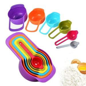 Set of 6 Stackable Measuring Cups and Spoons Only $5.99 (Reg. $10)!