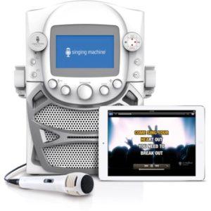Singing Machine CD+G Karaoke Bluetooth System Only $29.97! (reg. $75)