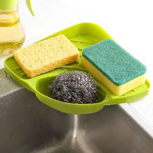 Sink Corner Shelf Sponge Holder Only $4.49 SHIPPED!