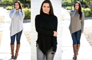 Soft High Neck Sweater | 4 Colors – $19.99! (was $39.99)