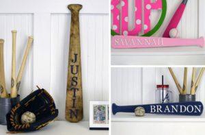 Unfinished Personalized Baseball Bat – $8.99!