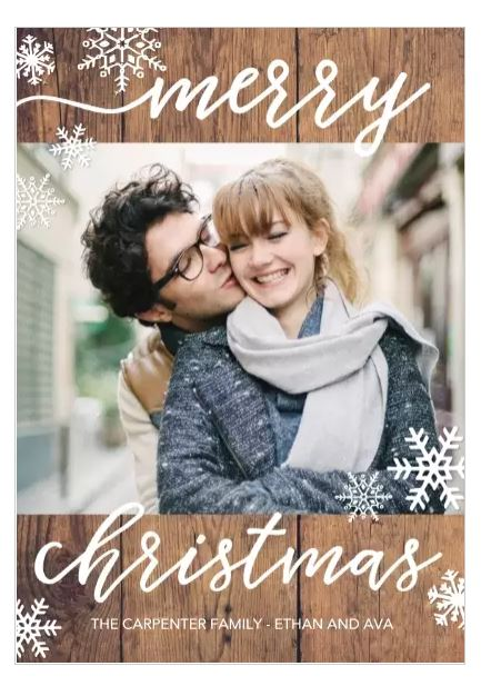 Walgreens Christmas Card.Save 50 On Holiday Cards Free Same Day Pickup At