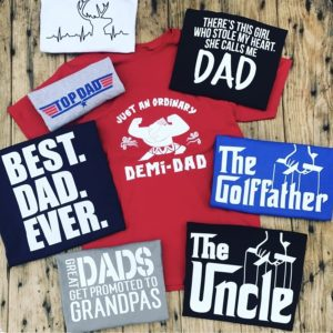 Dad Tees Blowout Sale – $9.99! Great Gift Idea!