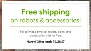 FREE Shipping on Robot Vacuums and Accessories at iRobot!