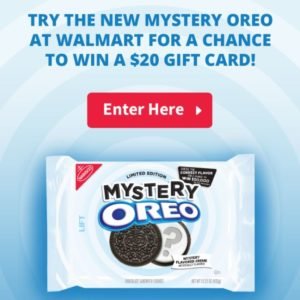Try Mystery OREOs for a Chance to Win a $20 Gift Card!