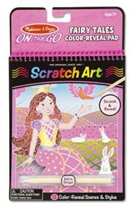 Melissa & Doug On the Go Scratch Art Color-Reveal Activity Pad Only $2.25! Stocking Stuffer!