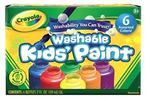 Crayola Washable Kid's Paint 6 Count Pack Only $3.00! Best Price!