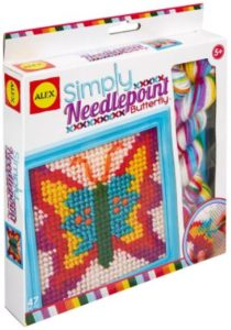 ALEX Toys Craft Simply Needlepoint Butterfly Kit Only $2.95!