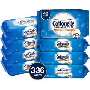 Cottonelle FreshCare Flushable Cleansing Cloths 8pk as low as $8.56!!