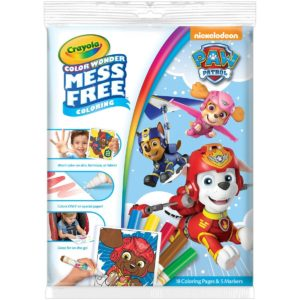 Crayola Paw Patrol Color Wonder Coloring Pad & Markers Only $4.97!