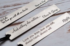 Hand Stamped Bookmarks – $9.99!