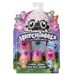 Hatchimals CollEGGtibles 4-Pack + Bonus (Season 4) Only $3.90! Lowest Price!