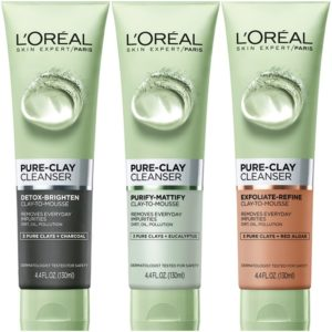 Target: L'Oreal Pure-Clay Skin Care Cleansers Only $0.79! (reg. $5.99)