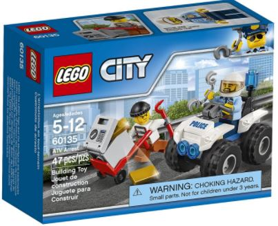 LEGO City Police ATV Arrest Building Kit