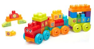 Mega Bloks ABC Learning Train Building Set Only $9.97! (was $19.99)