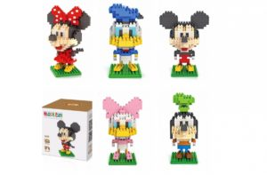 Mickey and Friends Building Blocks – 5 Styles – $8.99!