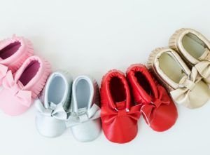 Soft Leather Baby Moccasins Only $5.99!