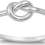 Sterling Silver Knot Ring Only $9.99!
